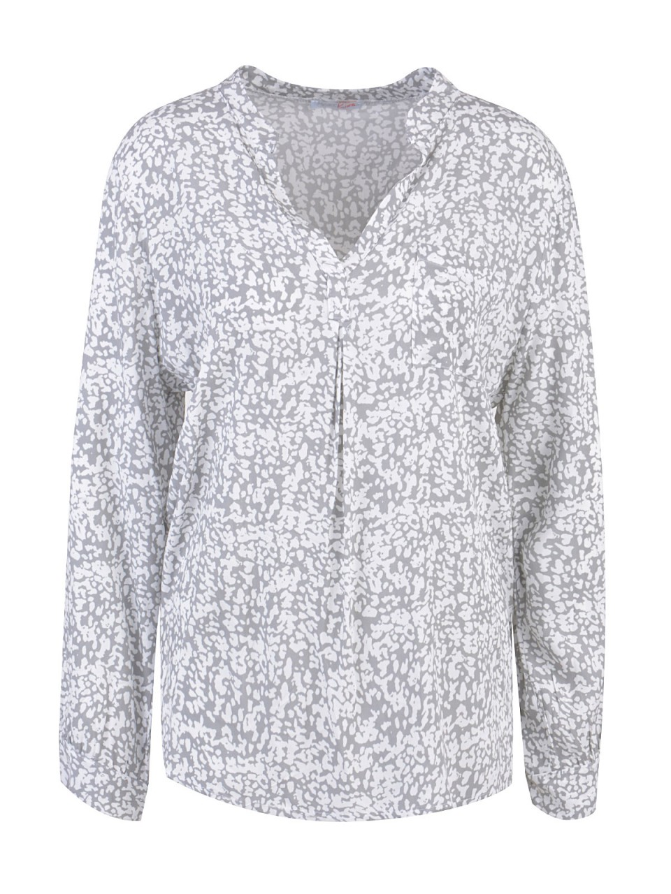 HEARTKISS Damen Bluse, grau