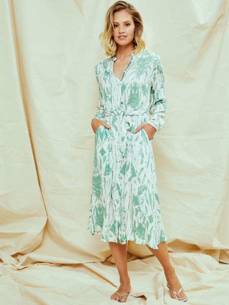 Kleid Von Smith Soul Angenehmes Leichtes Gewebe Grun Designermode Com