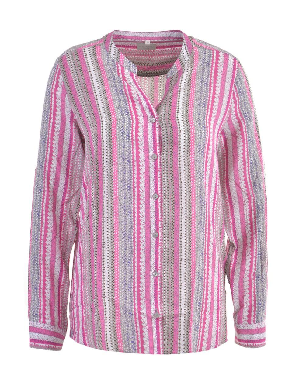 milano-italy-damen-bluse-pink-grau