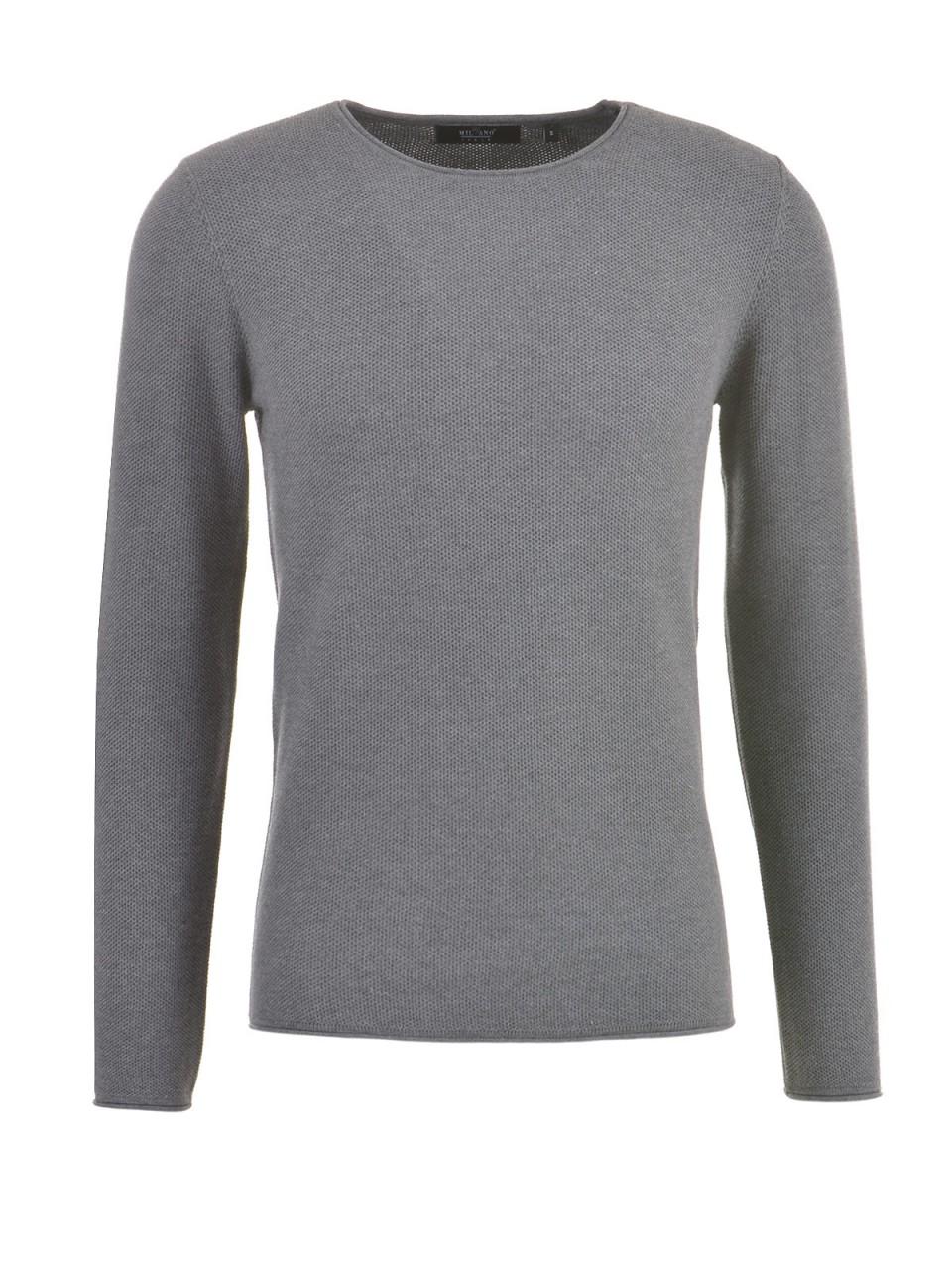 milano-italy-herren-pullover-grau-meliert