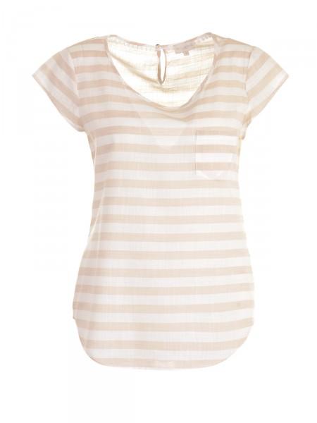 MILANO ITALY Damen T-Shirt, beige-creme
