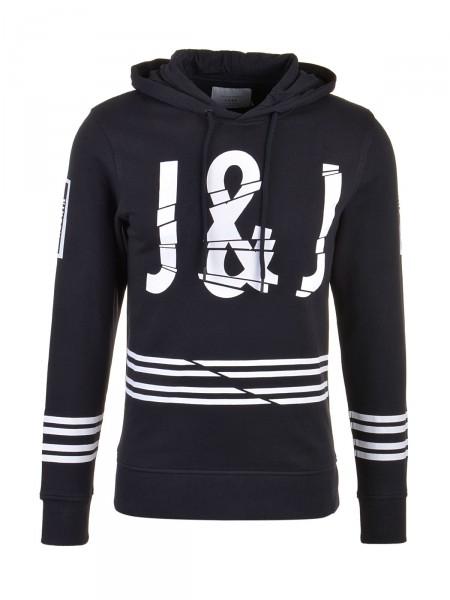 JACK & JONES Herren Sweatshirt, schwarz