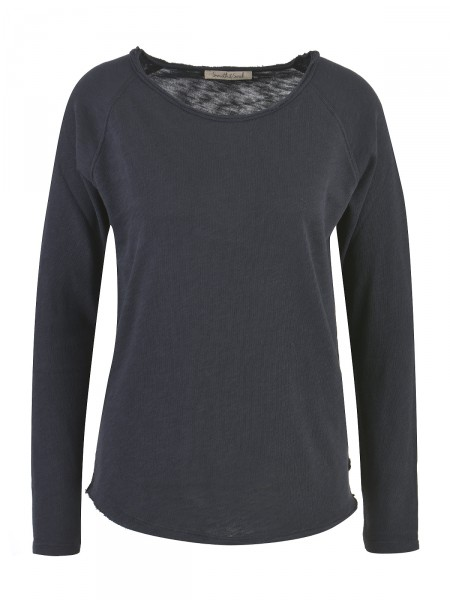 SMITH & SOUL Damen Langarmshirt, schwarz