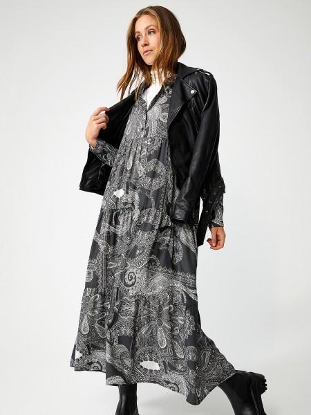 SMITH & SOUL Damen Kleid, grau