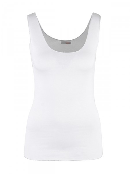 HEARTKISS Damen Top, weiß