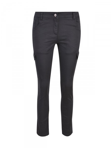 SMITH & SOUL Damen Cargohose, schwarz