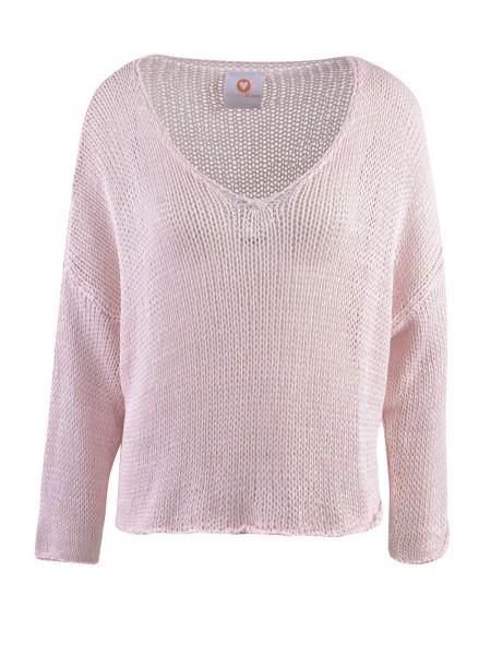 HEARTKISS Damen Pullover, rosa