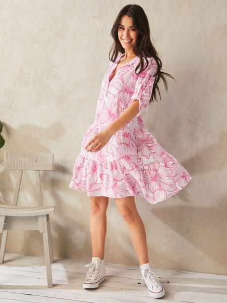 HEARTKISS Damen Kleid, pink