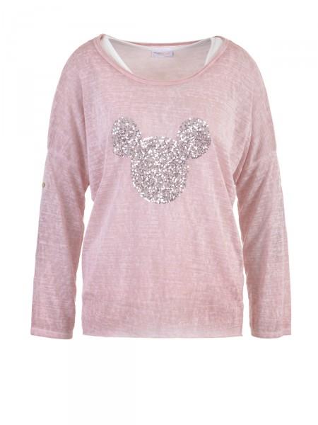 HEARTKISS Damen Shirt, rose