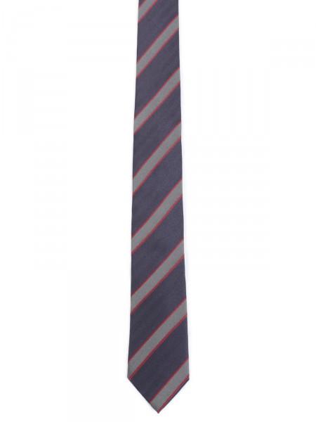 MILANO ITALY Herren Krawatte Seide, navy-rot