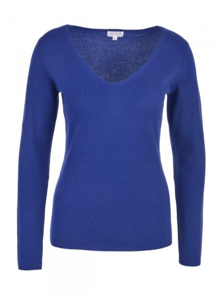Milano Italy Damen Kaschmir Pullover, blau