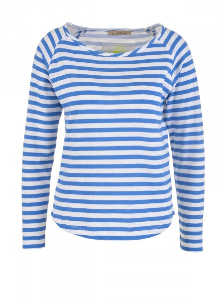 SMITH & SOUL Damen Shirt, blau-weiß