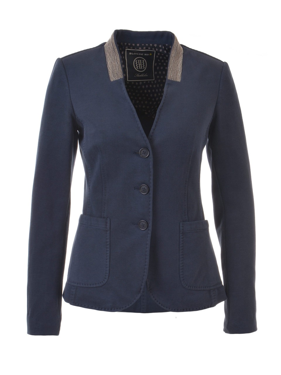 blonde-no-8-damen-blazer-blau