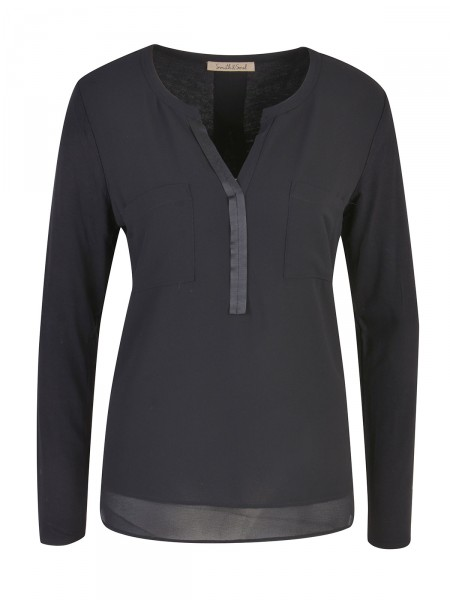 SMITH & SOUL Damen Bluse, schwarz