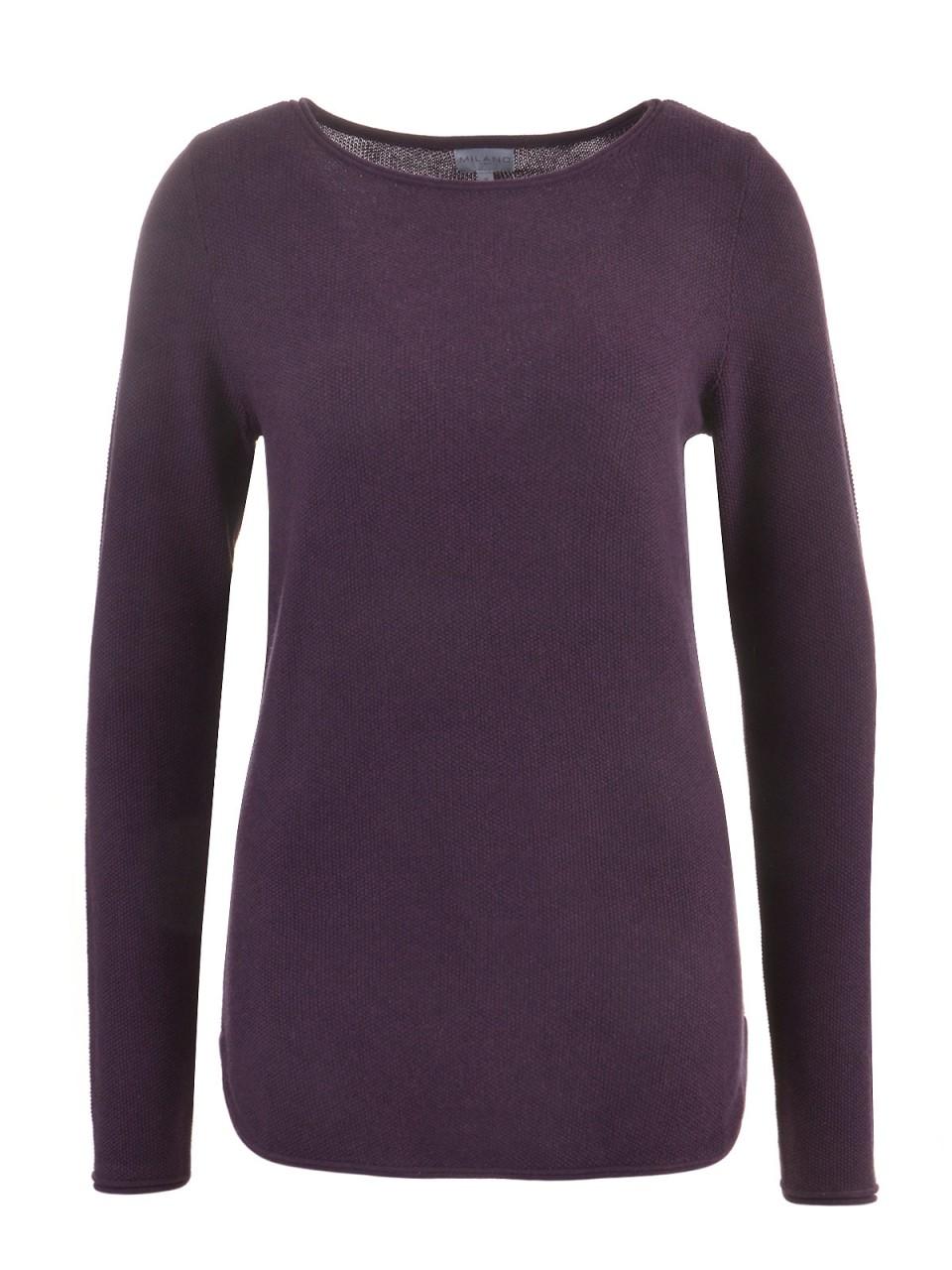 milano-italy-damen-pullover-violett