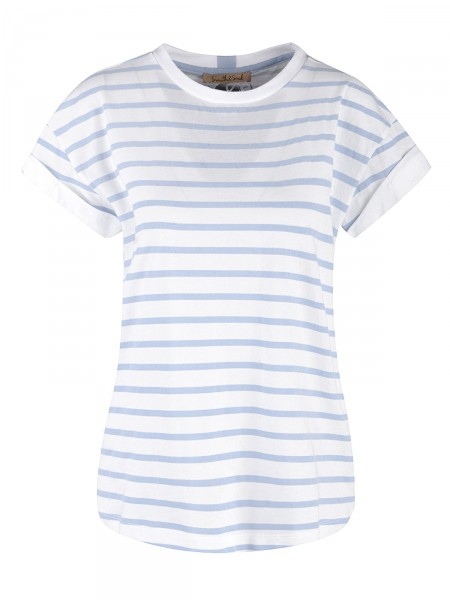 SMITH & SOUL Damen T-Shirt, hellblau