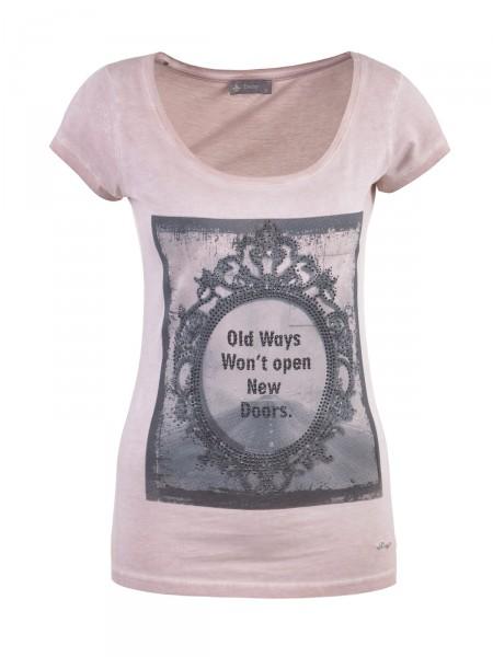 DECAY Damen T-Shirt, rosé