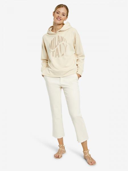 MILANO ITALY Damen Sweatshirt, beige