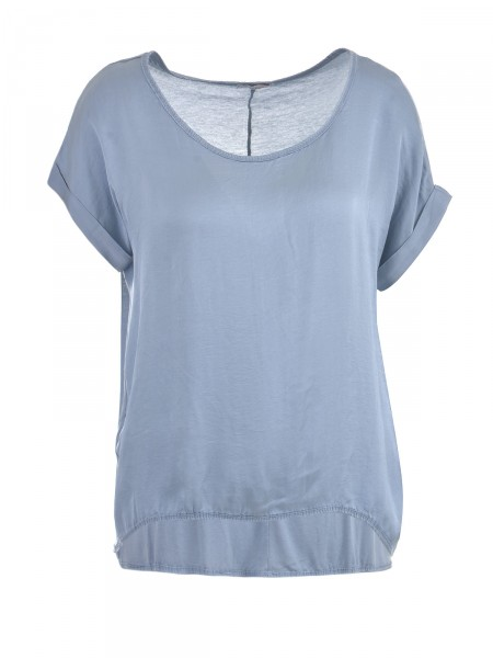 HEARTKISS Damen T-Shirt, blau