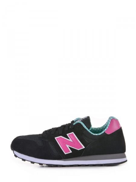 NEW BALANCE Damen Sneaker, schwarz-pink