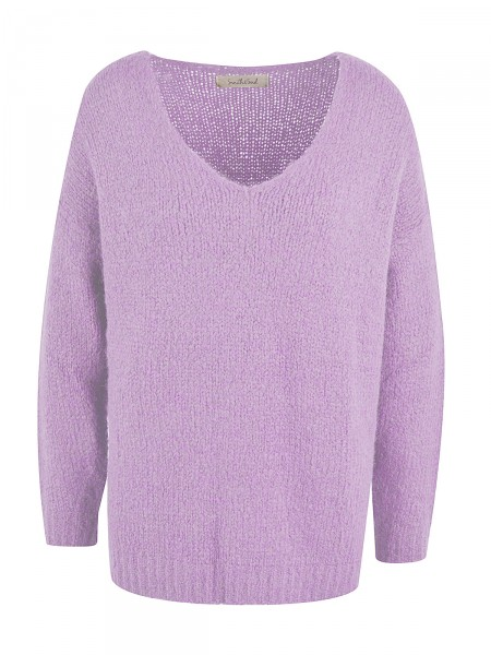 SMITH & SOUL Damen Strickpullover, lila
