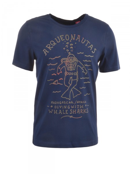 ARQUEONAUTAS Herren T-Shirt, navy