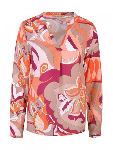 SMITH & SOUL Damen Bluse, orange