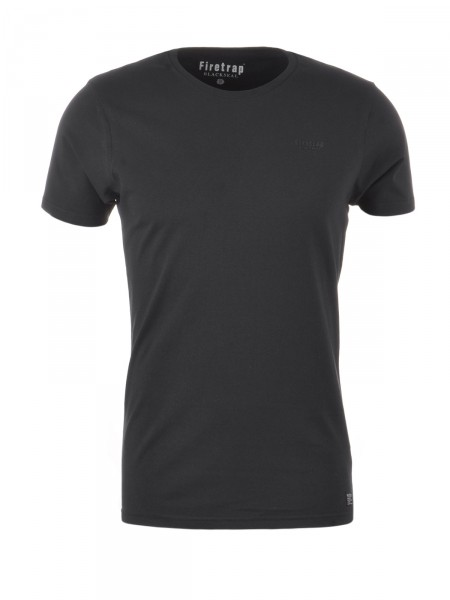 FIRETRAP Herren T-Shirt, schwarz
