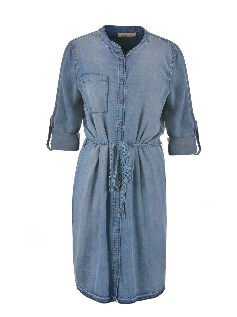 smith-amp-soul-damen-jeanskleid-blau, 64.97 EUR @ designermode-com-mode
