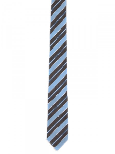 MILANO ITALY Herren Krawatte Seide, hellblau