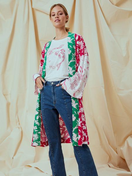 SMITH & SOUL Damen Kimono, pink