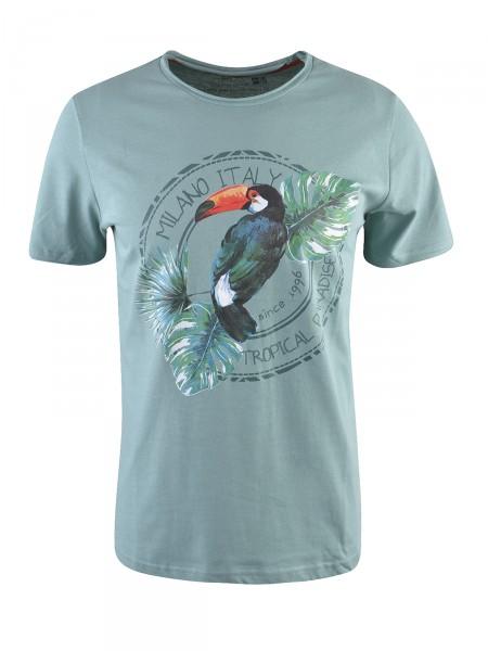 MILANO ITALY Herren T-Shirt, türkis
