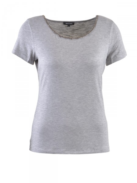 MORE & MORE Damen T-Shirt, grau