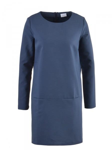 VILA Damen Kleid, blau