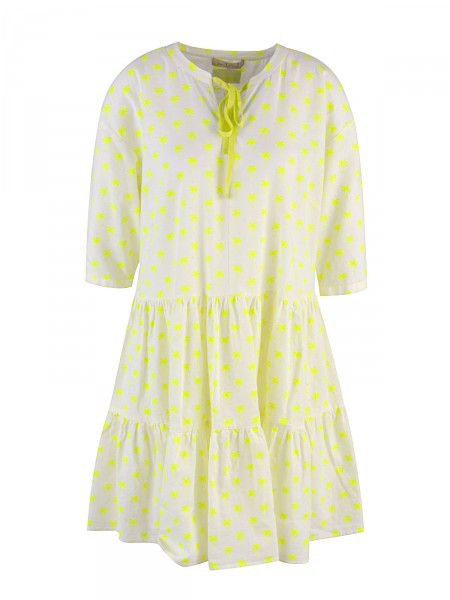 SMITH & SOUL Damen Kleid, neon-gelb
