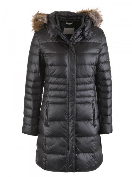 MILANO ITALY Damen Mantel, schwarz