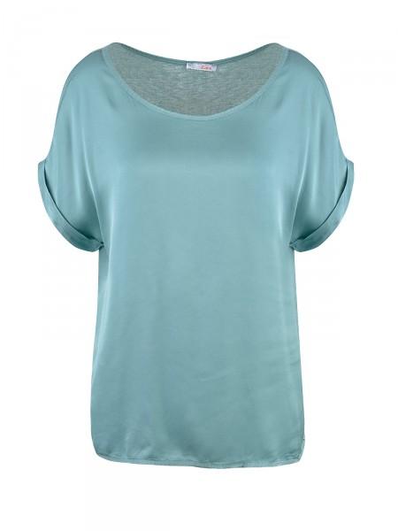 HEARTKISS Damen T-Shirt, türkis