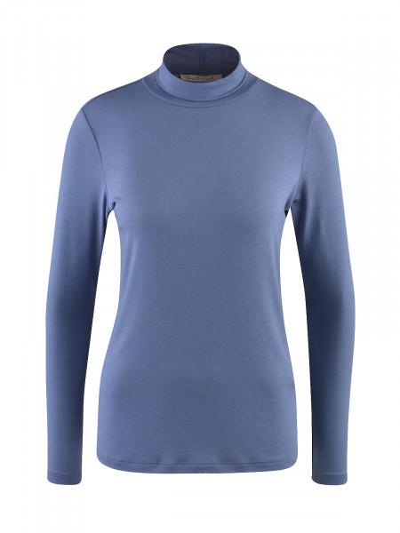 SMITH & SOUL Damen Langarmshirt, blau
