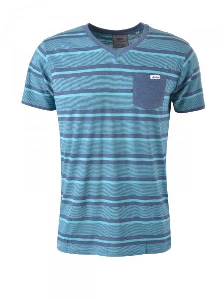 MILANO ITALY Herren T-Shirt, türkis-blau
