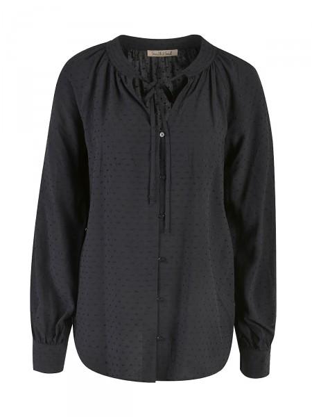 SMITH & SOUL Damen Bluse, schwarz