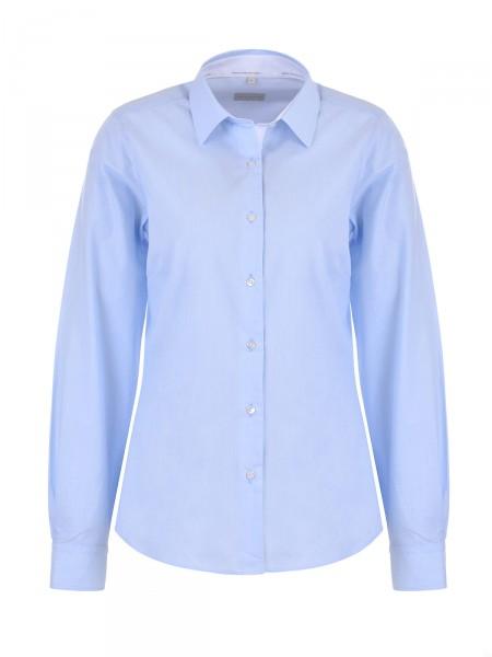 MILANO ITALY Damen Bluse, blau