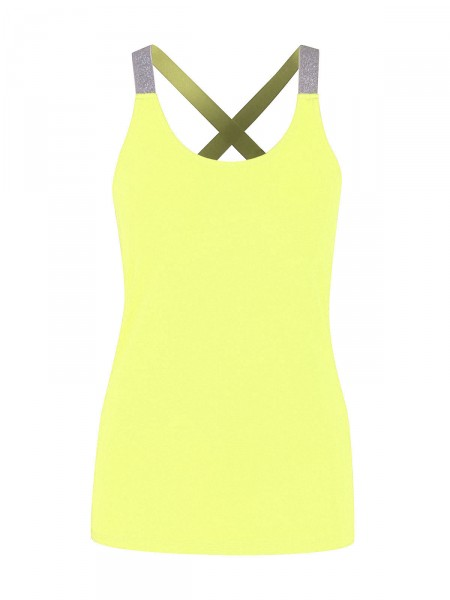SMITH & SOUL Damen Top, neon-gelb